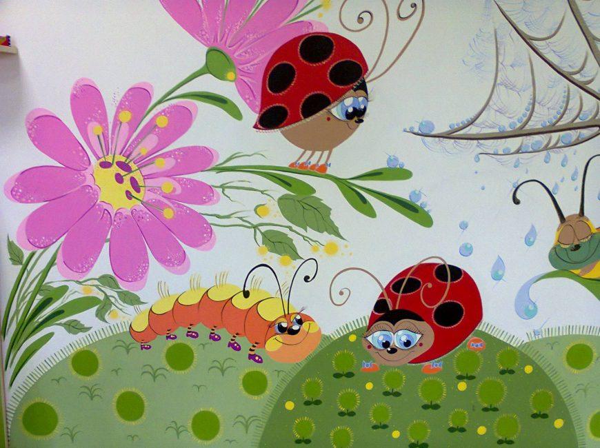 vaikų žaidimų kambarys, fragmentas
